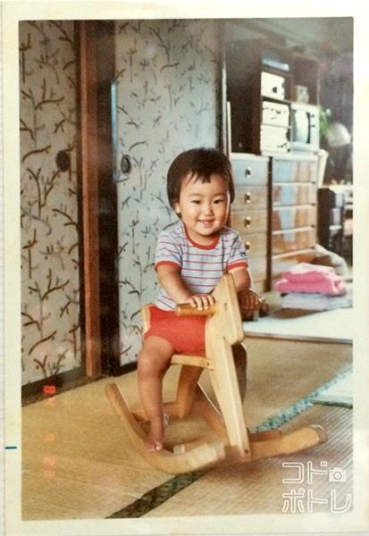 1歳の頃のもむらカメラマン